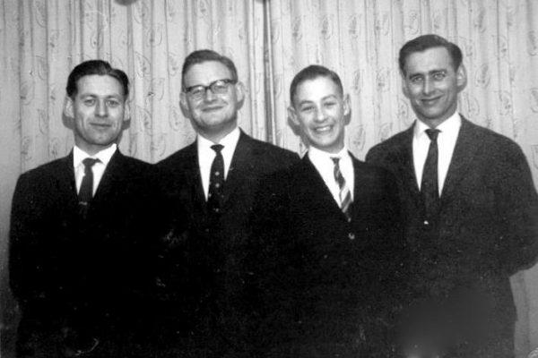 1963 febr De 4 broers Rigter